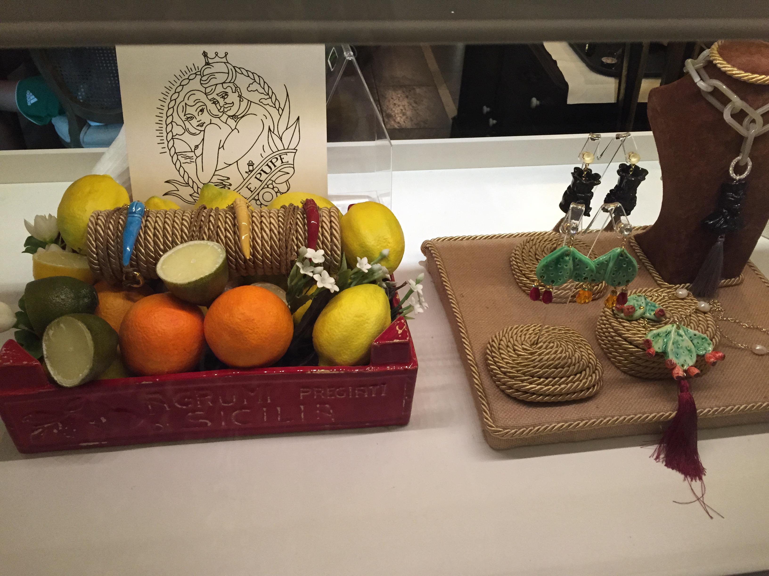 ori e Pupe :Sicilian jewellery brand
