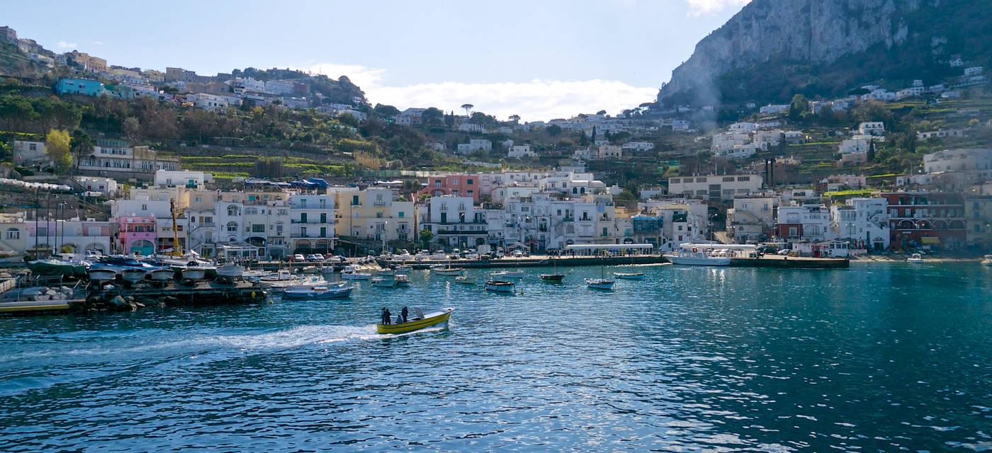 Marina Grande, Porot, Capri, Italy