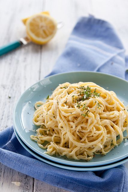 Tagliolini with Lemon & Parmigiano