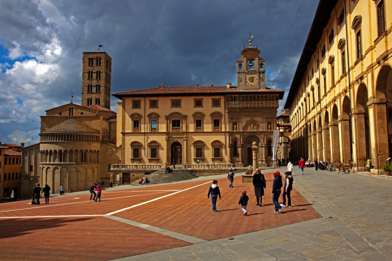 Arezzo, Tuscany Italy