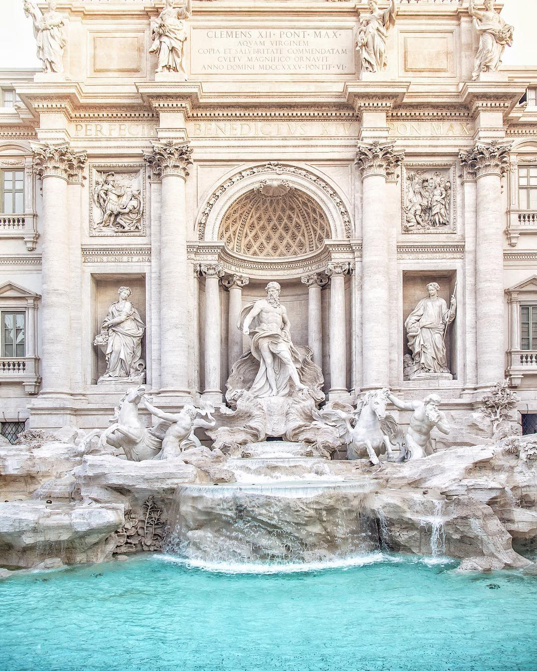 Trevi Fountain- Photo Credit: Giulio Pugliese