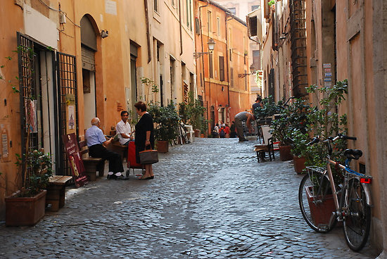 Rome Side Streets