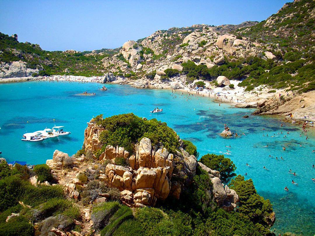 Cala Corsara, Island of Spargi in Maddalena.