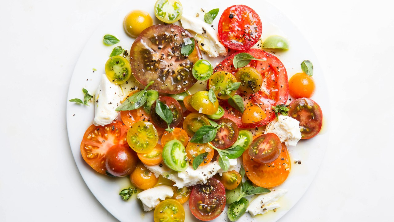 Caprese Salad photo credit: Bon appetit