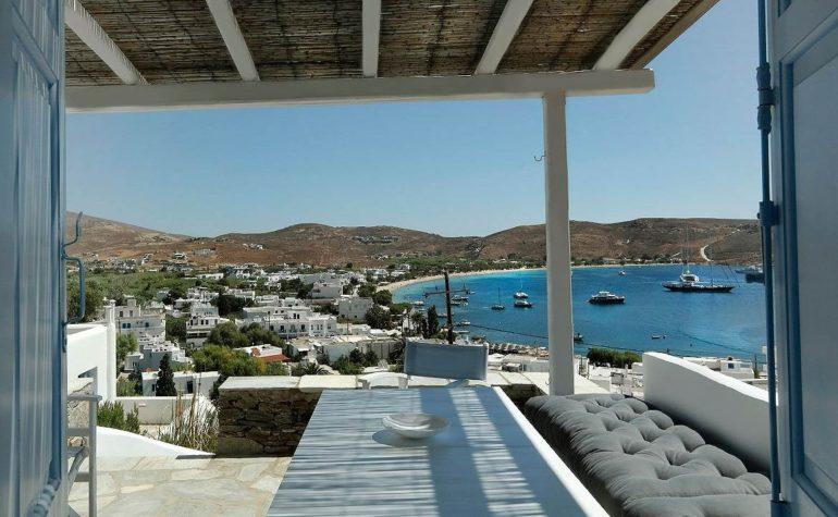 Greek style cottage